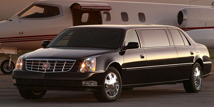 Limousine Montreal Cadillac DTS Transport