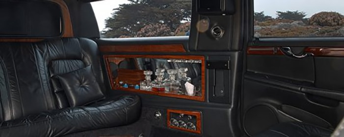 Limousine Montreal Cadillac Interieur