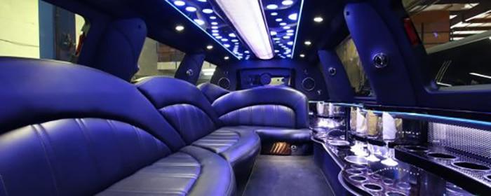 Limousine Montreal Navigator Interieur
